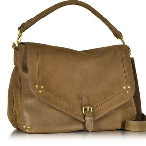 Jerome Dreyfuss Raymond Khaki Brown Saddle Bag